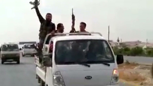 Rebels in Syria claim more advances