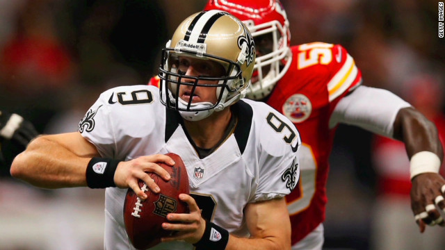 Brees: Beating Unitas feels 'incredible'