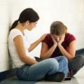 teens sad