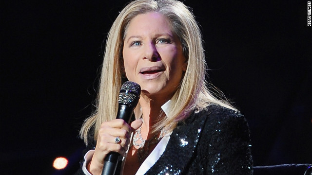 Barbra Streisand performed in Brooklyn on October 11.
