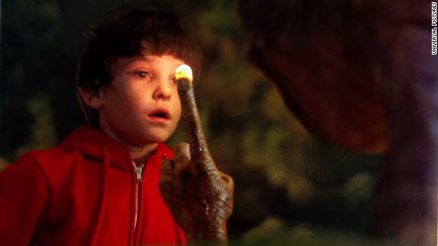 "Henry Thomas was 10 years old when he played Elliott in Steven Spielberg's classic ""E.T."""