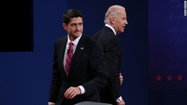 Who won the vice presidential debate?