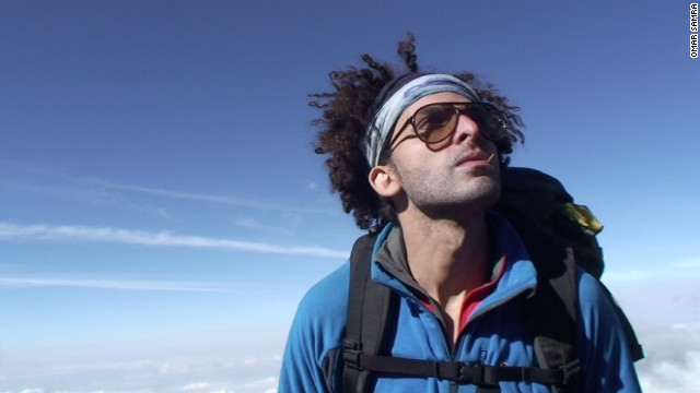Egyptian climber makes history