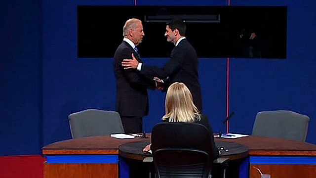 Watch the full vice presidential debate