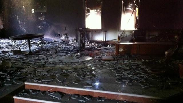 Libya attack suspect speaks to reporter