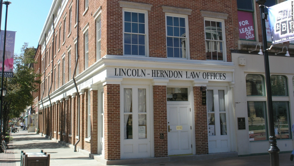 Lincoln's last remaining law office is an important glimpse into his time as a lawyer.