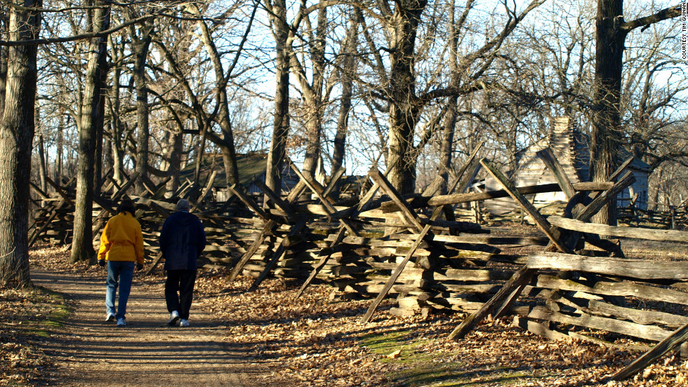 "Lincoln spent his formative years growing up in New Salem, which helped cement his ""log cabin"" image, experts say."