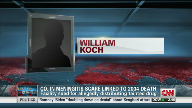 Meningitis drug maker - 2004 lawsuit