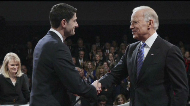 A clear winner in VP debate?