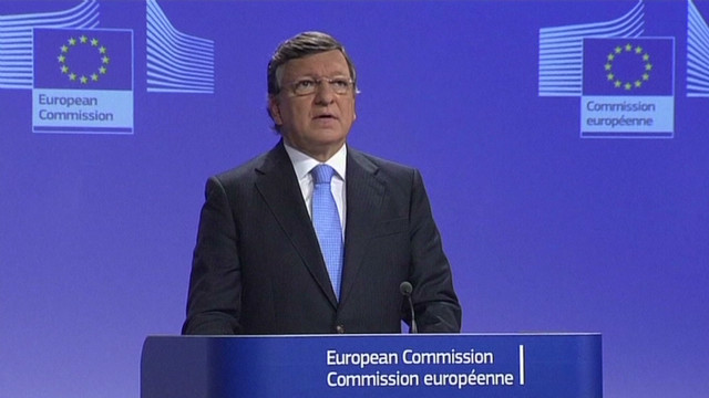 EU President: 'We are deeply touched'