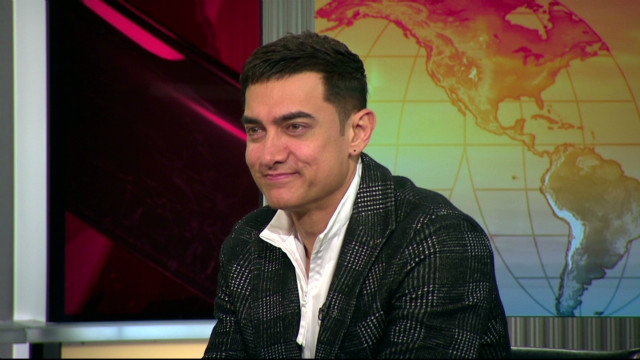 Bollywood megastar Aamir Khan opens up