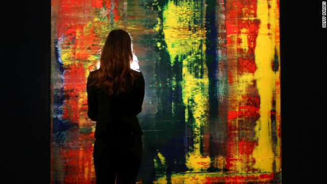 Gerhard Richter's 'Abstraktes Bild (809-4)' is one in a sequence of four by the artist.
