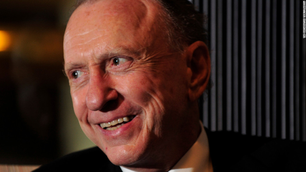Former U.S. Sen. Arlen Specter of Pennsylvania died at age 82 of complications from non-Hodgkin's lymphoma on Sunday morning at his home in Philadelphia, his family said.  Specter served five terms as a Republican senator and switched political affiliation in 2009.