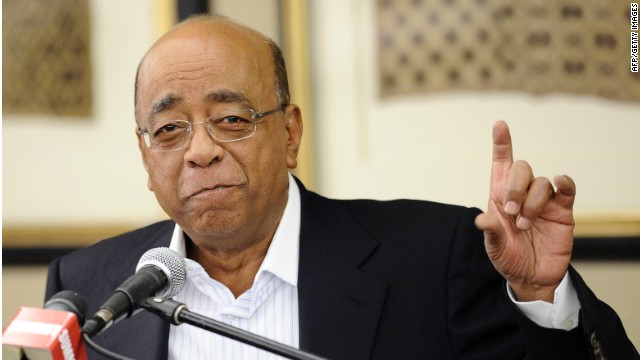 Sudanese mobile communications tycoon Mo Ibrahim says Africa must prioritize regional integration.