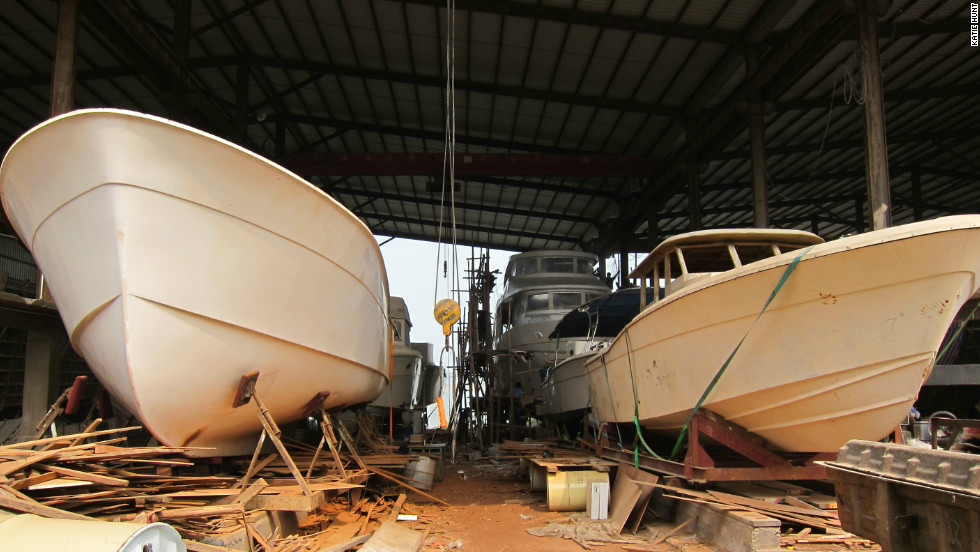 The company started out making fishing vessels and house boats.