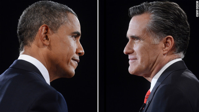 Obama, Romney dissect final jobs report