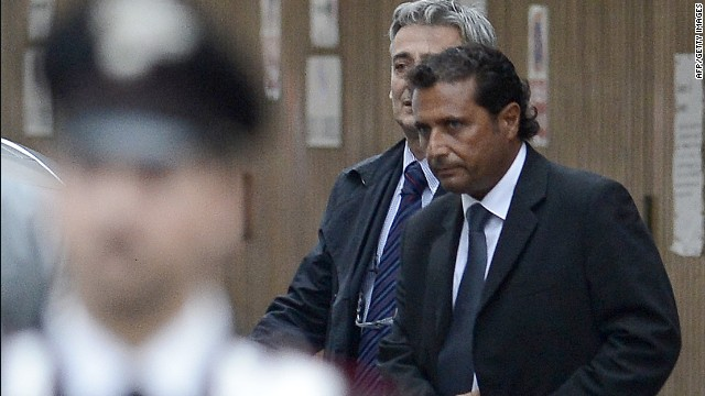 2012: Costa Concordia captain in court