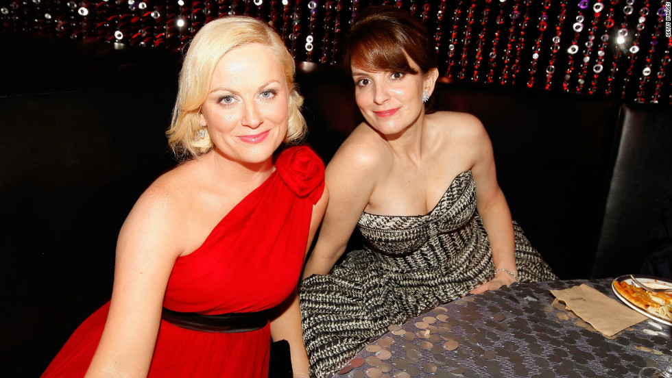 """""""Saturday Night Live"""" alums Amy Poehler, left, and Tina Fey will host the 70th Annual Golden Globe Awards in Beverly Hills, California. <a href=""""http://marquee.blogs.cnn.com/2012/12/13/nominees-announced-for-70th-annual-golden-globes"""" target=""""_blank"""">Check out the complete list of nominees</a>, which include """"Argo,"""" """"Life of Pi,"""" """"Lincoln,"""" """"Zero Dark Thirty"""" and """"Django Unchained"""" for best motion picture -- drama. CNN Entertainment will provide complete coverage."""