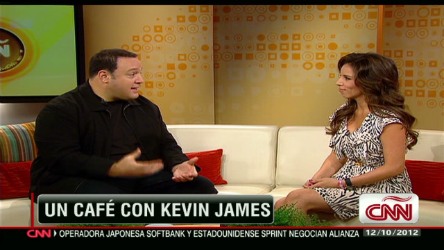 Kevin James en Café CNN_00020715