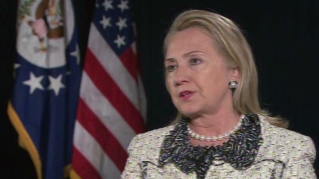 Clinton: 'I take responsibility'