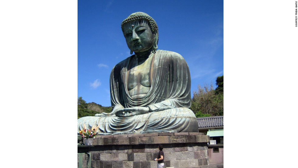 The Buddha at Kamakura overpowers many visitors more than the immensity of Tokyo.