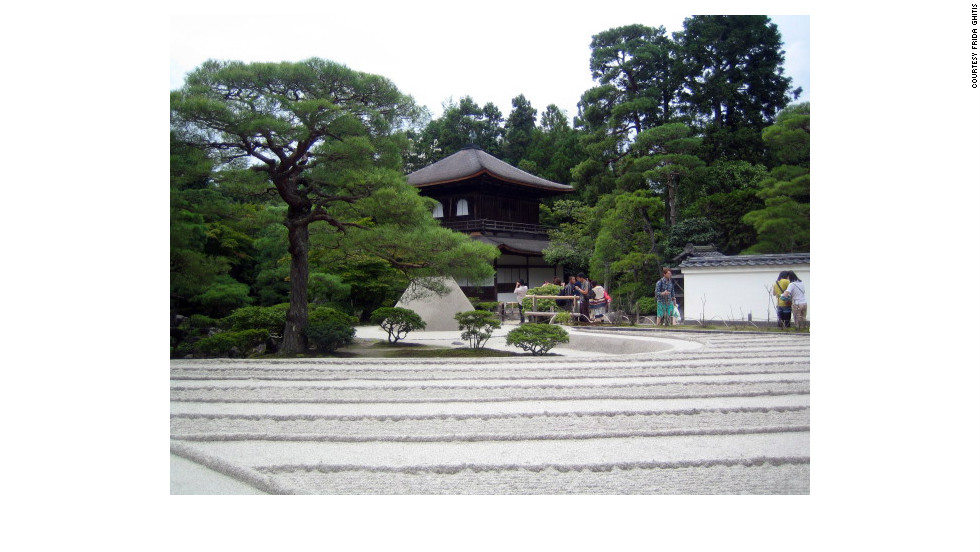 Many first-time visitors to Japan are fascinated by the country's distinctive blend of carefully guarded tradition and cutting-edge modernity. Here, Kyoto's Ginkaku-ji, Temple of the Silver Pavillion, is the picture of calm.
