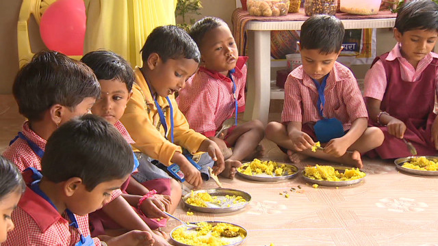 India fights against malnutrition