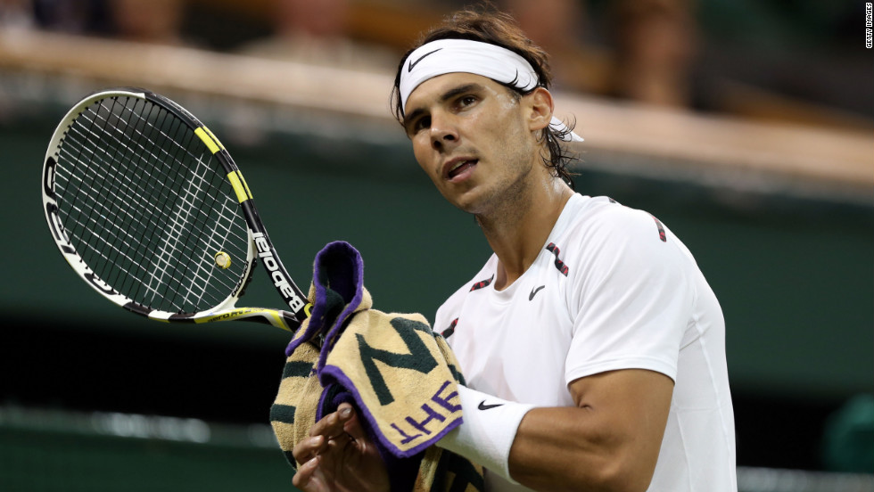 Former world No. 1 Nadal hasn't played since being knocked out in the second round of Wimbledon in July 2012, with his expected comeback this year from long-term knee problems being delayed by illness.