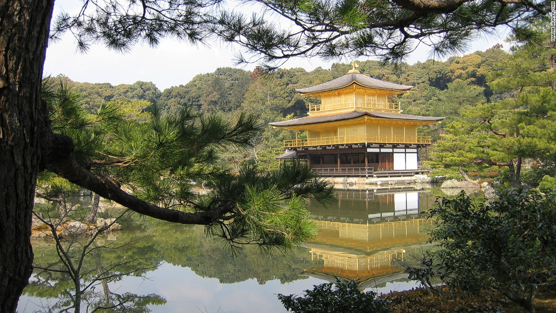 "Covered in gold leaf, Kinkaku-ji or the Golden Pavilion, is arguably Kyoto's most famed attraction.<a href=""http://www.shokoku-ji.jp/k_access.html"" target=""_blank""><em><br />Kinkaku-ji<em></a></em>, 1 Kinkakujicho, Kita Ward, Kyoto, Japan; +81 75 461 0013</em>"