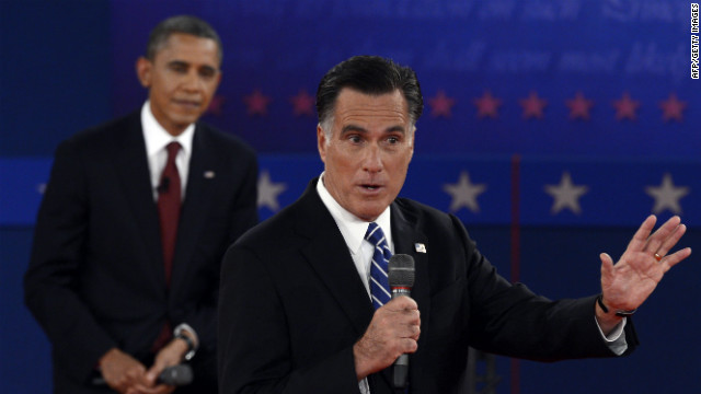 See Romney tell story about 'binders of women'