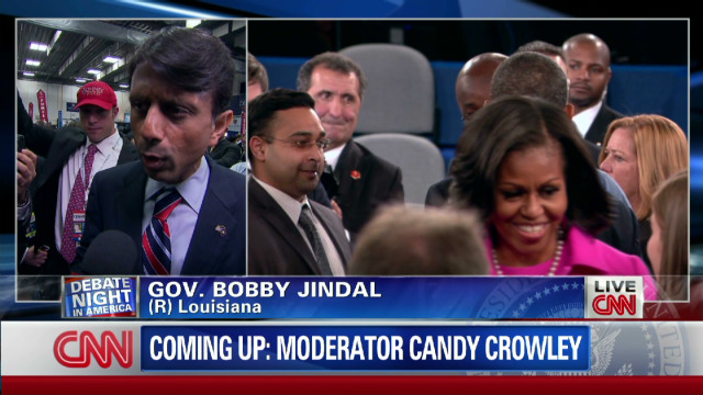 exp 2012 debate Jindal Spin room_00002001