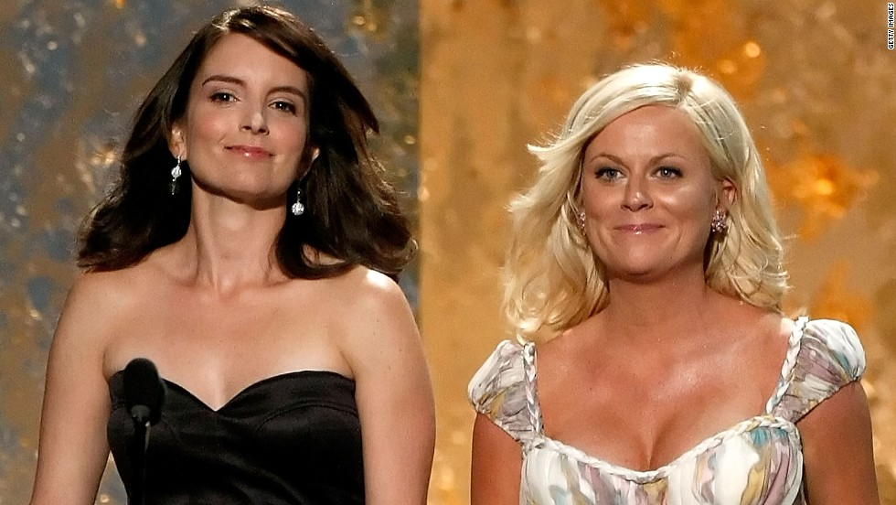 At the Emmys in September 2008, Fey and Poehler present the award for best supporting actor in a comedy series.