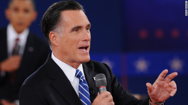 Romney wasn't behind 'binders of women'