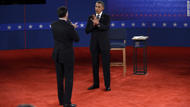 Obama, Romney get heated over Libya