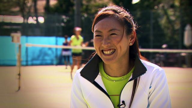 open court Ai Sugiyama doubles champion_00003413