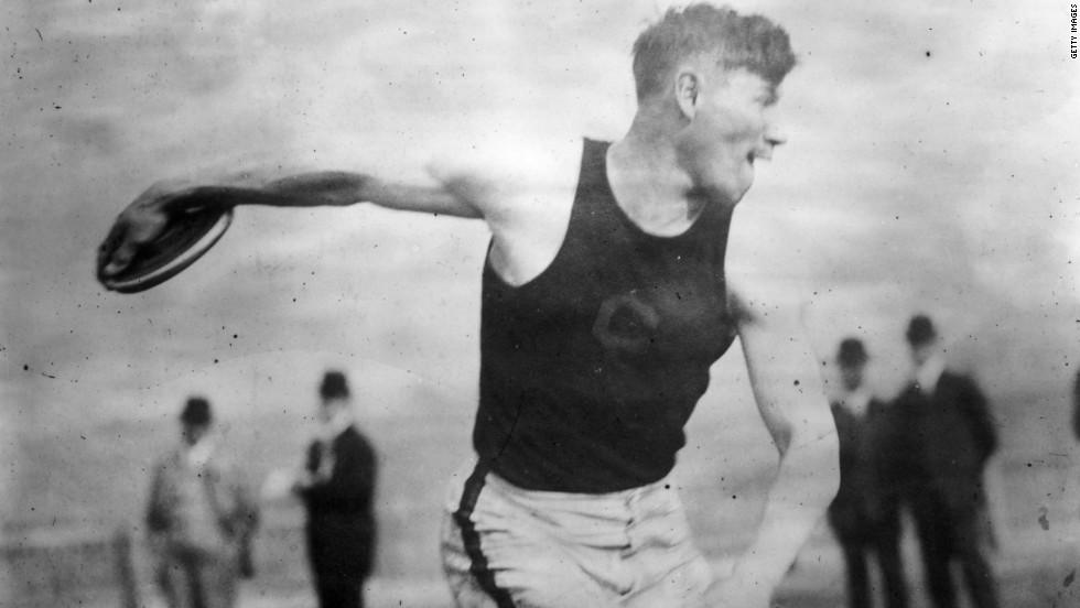"""Jim Thorpe competed in the 1912 Summer Olympics. His sport of choice? The pentathlon and decathlon, where he finished first in eight of the 15 events, <a href=""""http://www.menshealth.com/fitness/fittest-men-ever"""" target=""""_blank"""">according to Men's Health</a>. He then went on to play professional baseball AND football."""