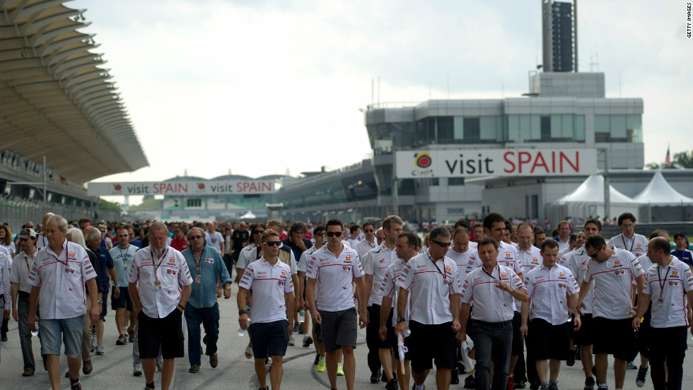 "MotoGP teams and officials came together at Sepang to remember the former rider during the 'Tribute for Marco Simoncelli' ceremony. According to 2011 world champion Casey Stoner, the incident is ""a lot more fresh on everyone's mind being the anniversary."""