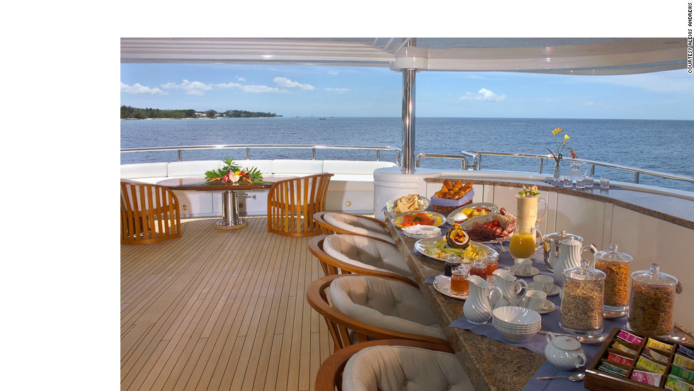 Usually only larger yachts over 60-meters have a second chef, whose main responsibility will be to cook for the crew.