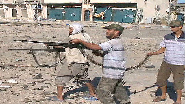 What happened to Gadhafi loyalists in Sirte?
