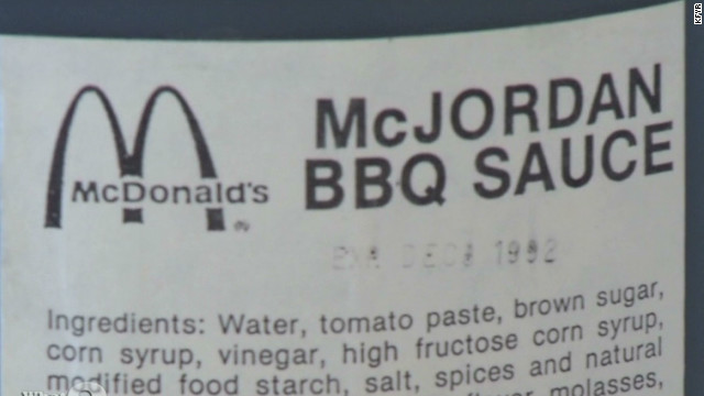 'McJordan' BBQ sauce sells for $9,995