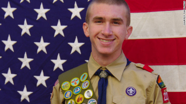 Zach Plante, 16, opposes the group's ban on gays, lesbians and atheists, but he remains loyal to Scouting.