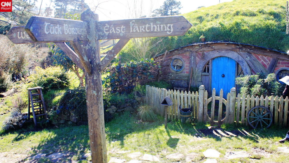 "If you're a ""Lord of the Rings"" fan, look no further than New Zealand for Middle-earth. For iReporter Jerry C. Gonzales, touring the sets where Peter Jackson filmed the trilogy and ""The Hobbit"" was a dream come true. <a href=""http://ireport.cnn.com/docs/DOC-822015"" target=""_blank""><br />Check out the rest of Jerry's photos on iReport</a>."