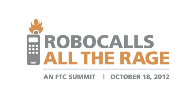 "The Federal Trade Commission hosted a summit to discuss the rising use of automated ""robocalls."""