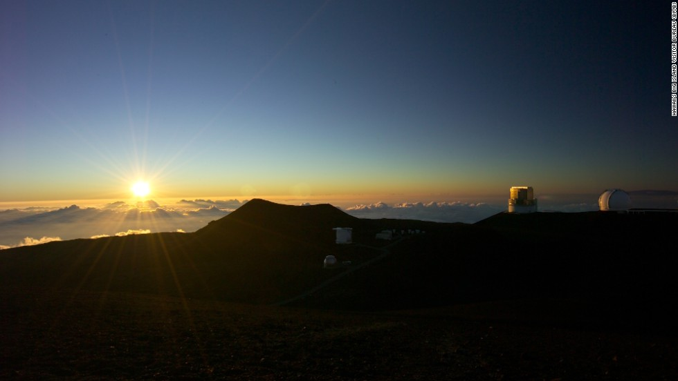 Mauna Kea's height also means unparalleled views, not just of the ocean but of the sky.