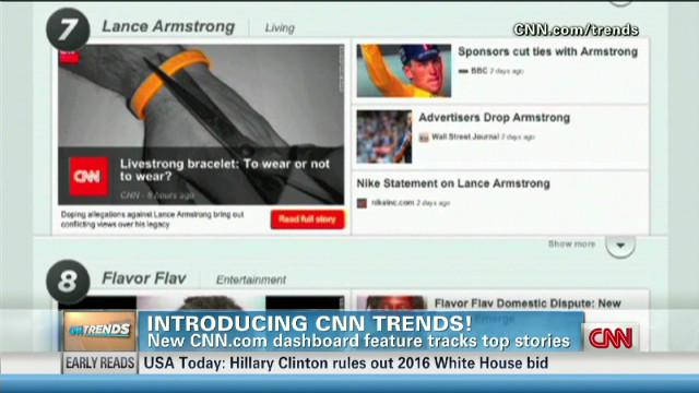 Zite CEO Mark Johnson on new CNN Trends