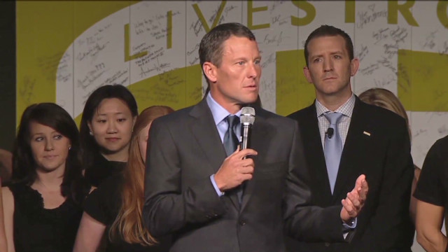 Armstrong addresses Livestrong group