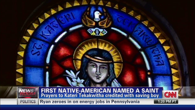 First Native American named a saint