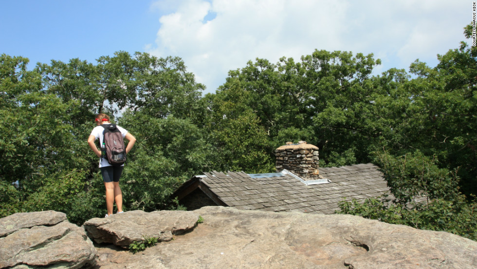 The Cherokee consider Blood Mountain, seen here above the shelter, a townhouse of the Nunne'hi, a race of immortals.