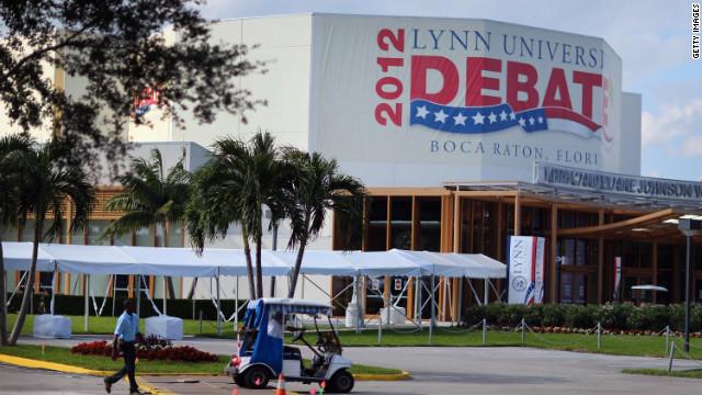 Lynn University's debate hall is set to host the final presidential debate between President Obama and Gov. Mitt Romney in Boca Raton, Florida.