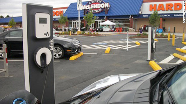 Public Charging Stations Fuel Desire For Electric Cars Cnn